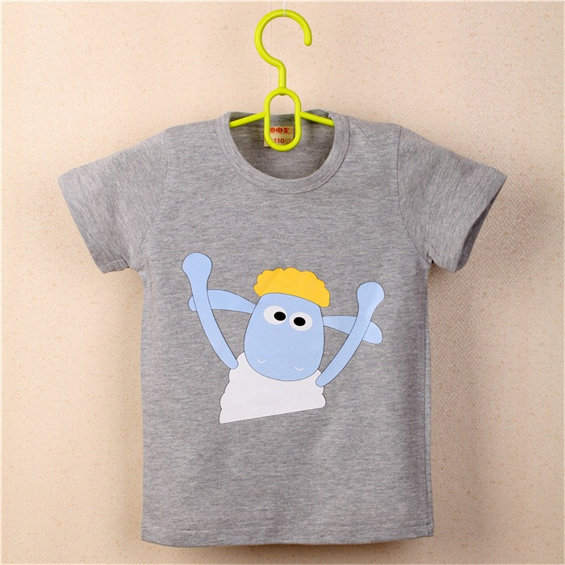 FHADST-Summer-New-Baby-0-2-year-Boys-White-Cool-T-shirt-Short-Sleeve-100-Cotton-Casual-tees-Kids-Clothes-Character-Cute-monkey-2