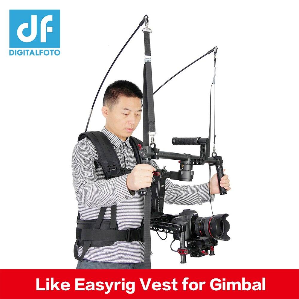 Laing Like EASYRIG 4-11kg video film Serene Support Vest for DSLR DJI Ronin M Zhiyun Crane 2 Crane M Crane Plus with Dual Handle