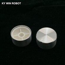 1 pcs 25x13mm Aluminum Alloy Potentiometer Knob White