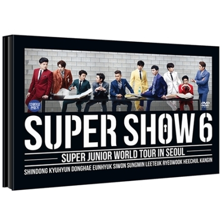 SUPER JUNIOR - WORLD TOUR IN SEOUL - SUPER SHOW 6 + Special Photobook Release Date 2016-01-08 KPOP tvxq special live tour t1st0ry in seoul kpop album