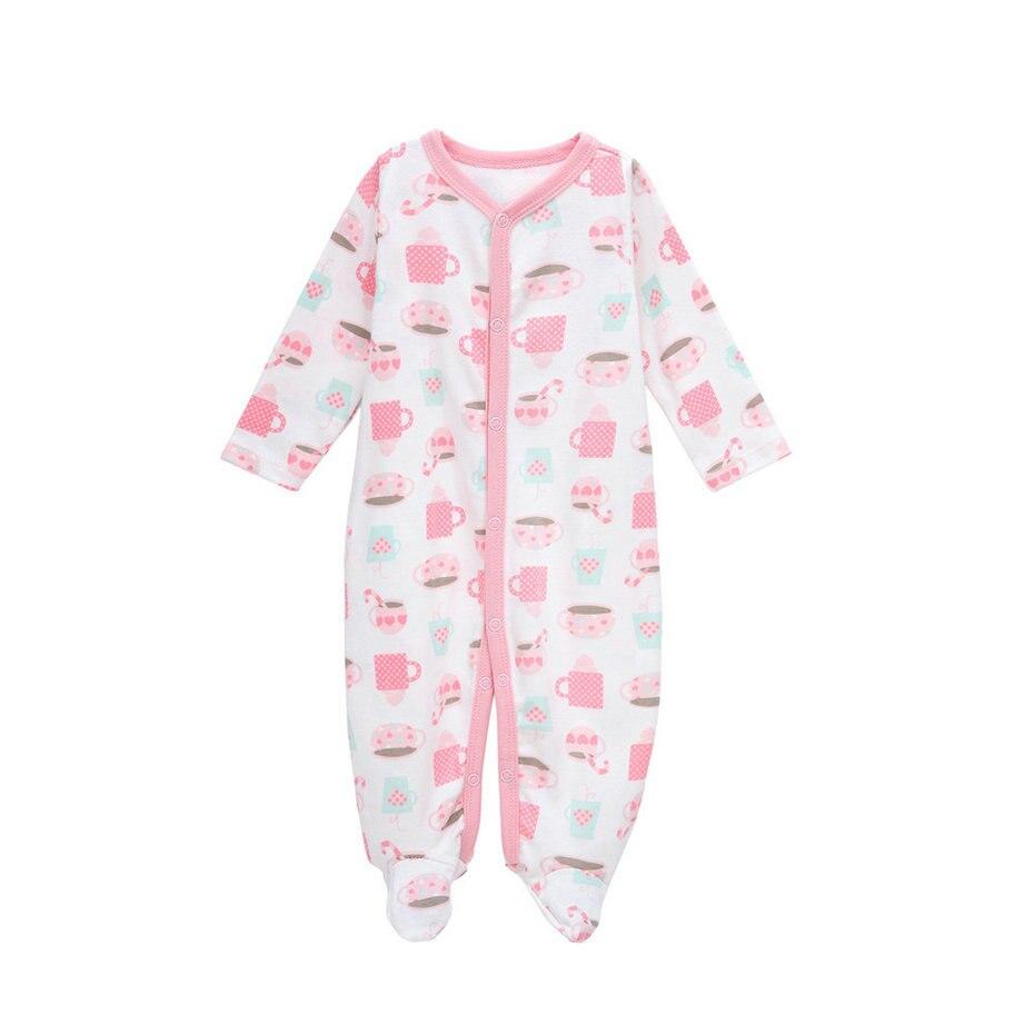 nabídka dítěte Nový recept nacido baby girl romper novorozenec dívka oblečení vánoční zimní baby oblečení Děti pyžamo hrnku Jumpsuit