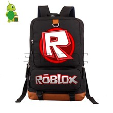 Roblox Game Backpack Men women morral hombre Daily Laptop Backpack for Teenagers Girls Boys Casual Rucksack School Travel Bags(China)