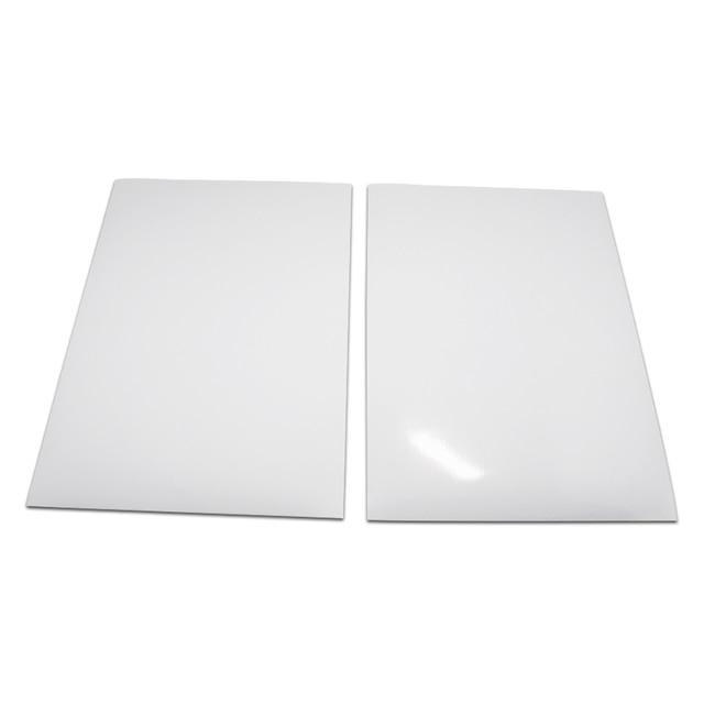 Водонепроницаемая матовая/глянцевая белая поверхность, самоклеящаяся полипропиленовая синтетическая бумага A4 для лазерного принтера, 20 шт./лот