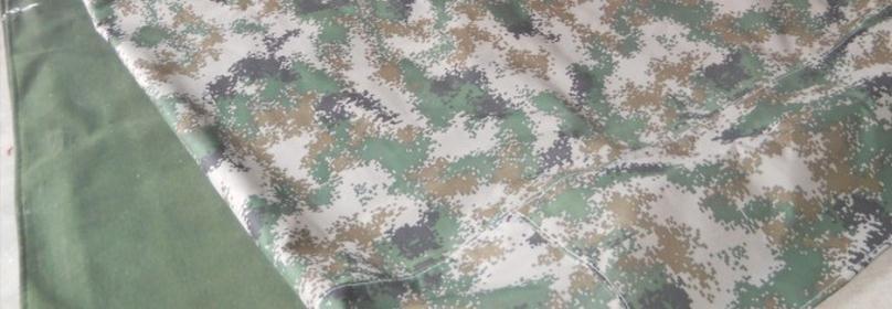 Personnalisé 400g/sqr taille 6 m x 4 m camouflage toile imperméable, bâche militaire, tissu de couverture de camouflage imperméable à l'eau en plein air.