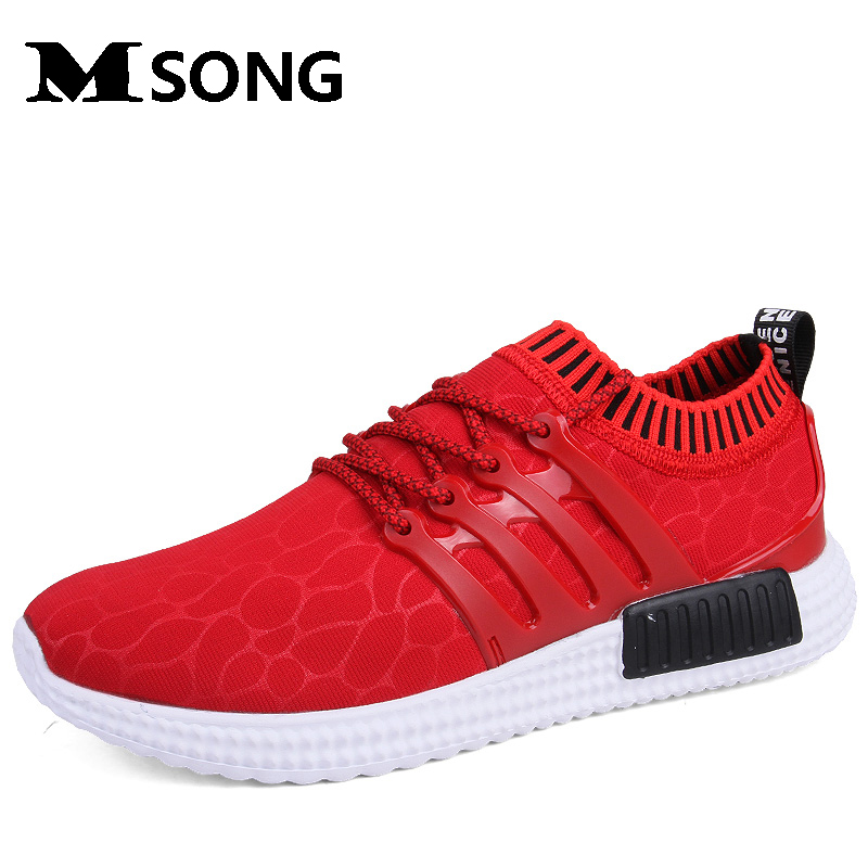 ФОТО MSONG 2017 New Cotton Fabric Rubber Breathable Solid Casual Shoes Men Trainers Flat With Man shoes Zapatillas Deportivas Mujer