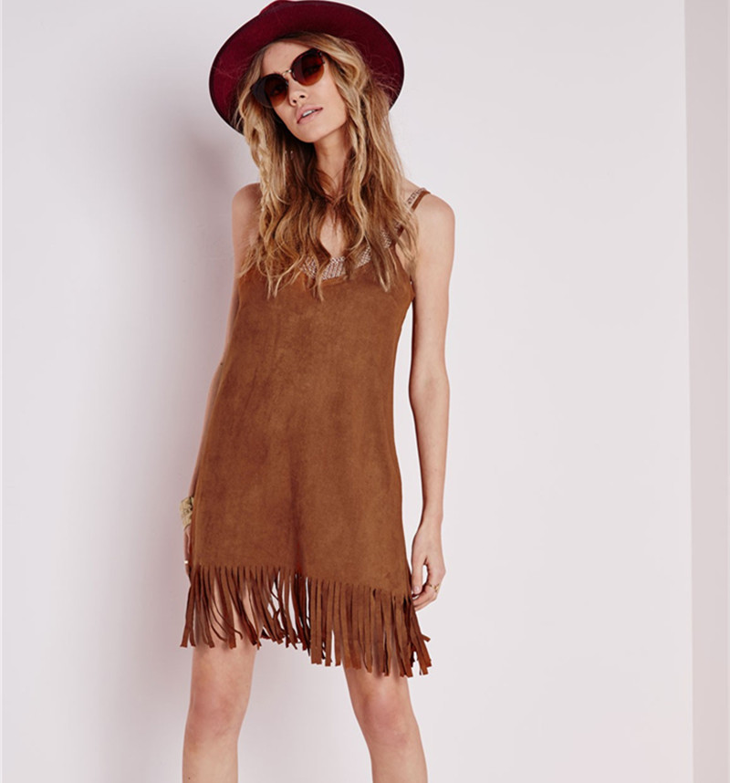 Online Buy Wholesale vintage fringe dress from China vintage ...