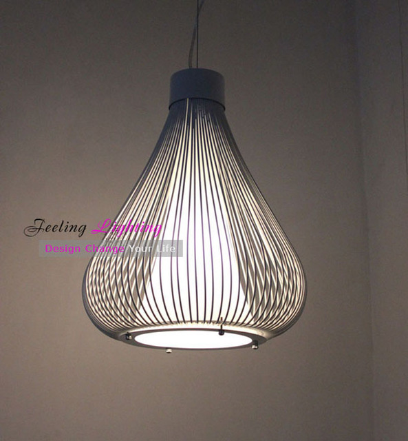 european style pendant lamp onion suspension lamp modern painted