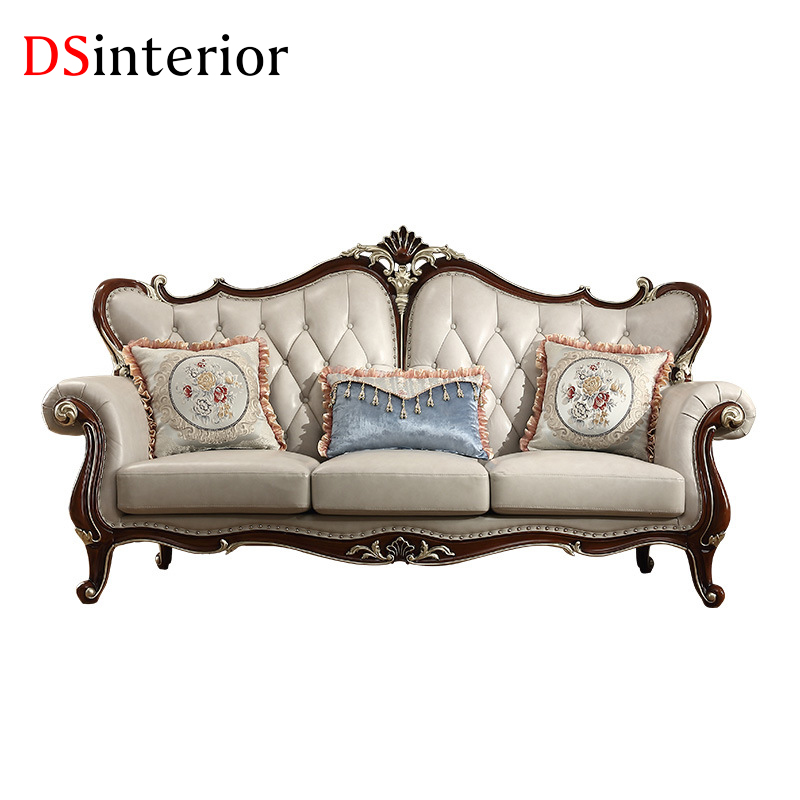 Barletta Italian Inpired White Leather Sofa Collection: DSinterior Furniture Italian Design White Genuine Leather