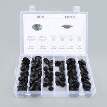 141Pcs 6Kinds Auto Car Plastic Flush Mount Hole Plugs Assortment Kit Body Sheet Metal Fastener Clip For Universal Cars