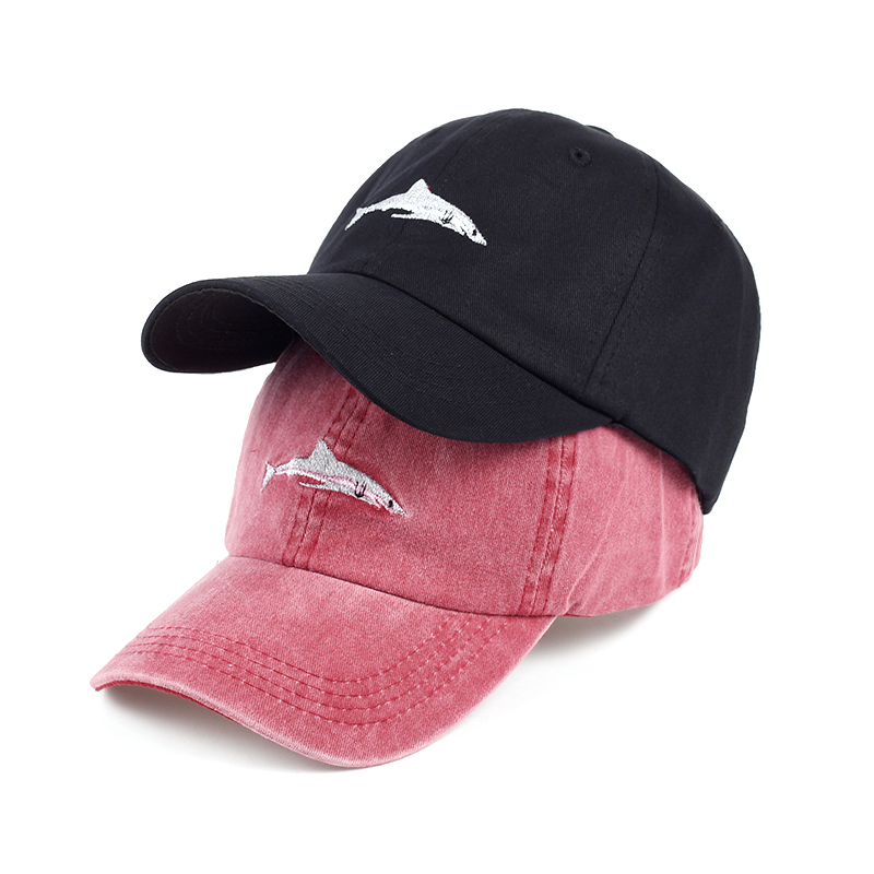 VORON 2017 Hot sale fish embroidery baseball cap women sun hat adjustable cotton snapback hats fashion Dad hat men caps cntang brand summer lace hat cotton baseball cap for women breathable mesh girls snapback hip hop fashion female caps adjustable