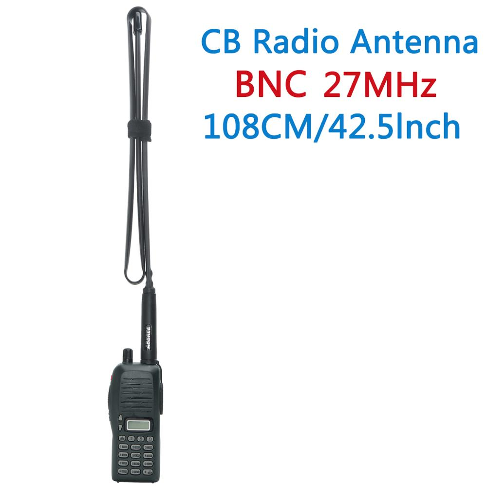 Image 5 - ABBREE Tactical Antenna 27Mhz 72/108CM CB Portable Radio with BNC Connector for Cobra Midland Uniden Anytone CB Radio-in Walkie Talkie from Cellphones & Telecommunications