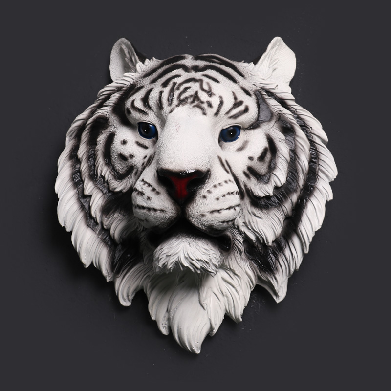 Tiger Head Wall Decoration Hanging