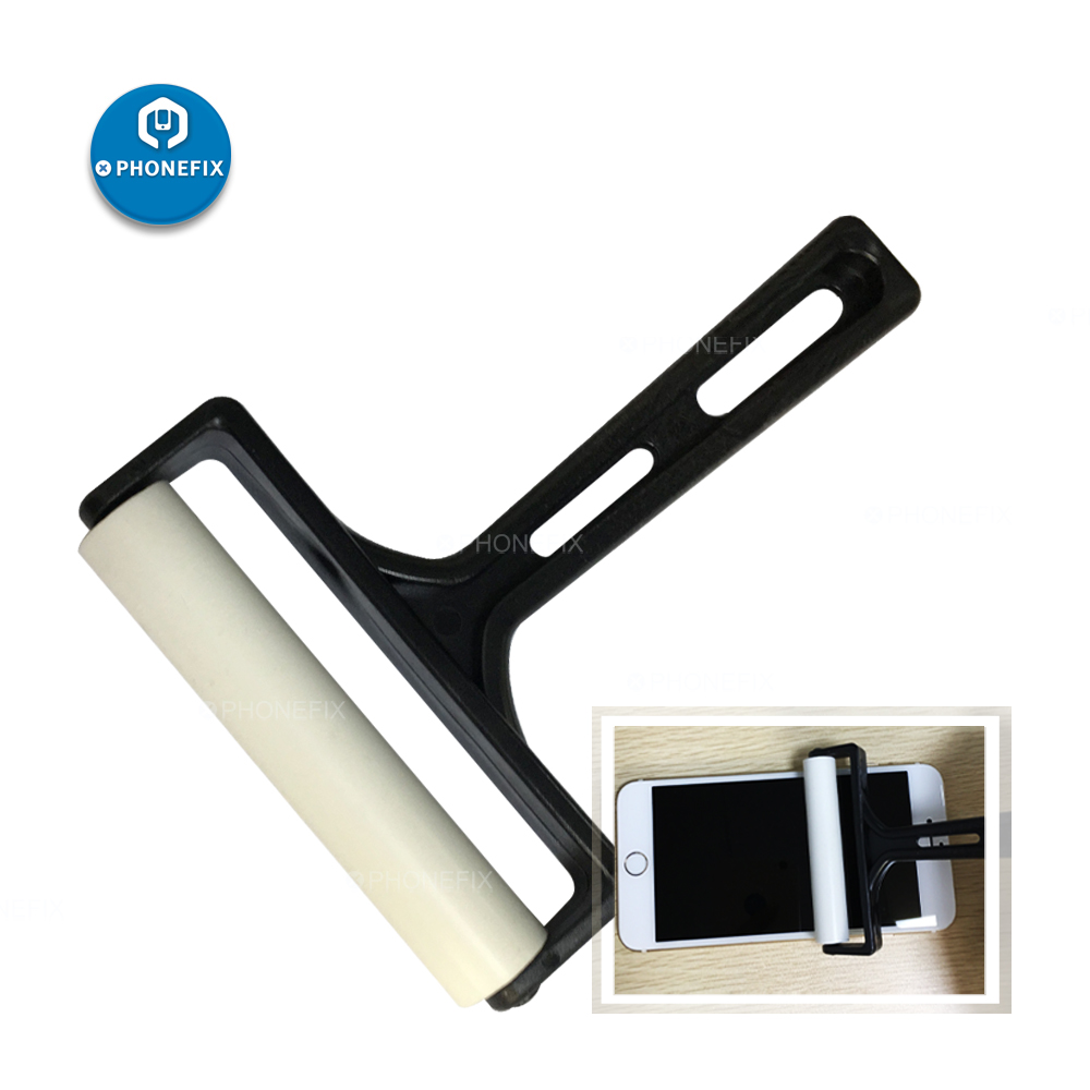 8cm Width Silicone Roller LCD Screen Film Polarizing Tools For Mobile Phone Tablet Clean Tools Screen Repair Kit