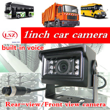 Bus Truck Rear View Camera 120 Angle Reverse Backup Camera built-in voice Monitoring  Truck Front  Camera for Parking Assistance