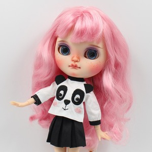Image 3 - DBS icy blyth doll toy outfit dress suit panda cute skirt shirt gift toy