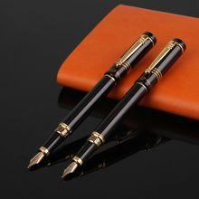 Роскошные Для мужчин Для женщин перьевая ручка Бизнес студент 0,5 мм 1,0 мм дополнительный тонкий наконечник каллиграфии, офисные школьные письменные принадлежности инструмент