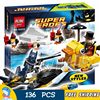 New 2016 Bela 10225 Superheroes Penguin Face Off Amazing Fascinating Mysterious Batman Vehicle Duck Boat Compatible
