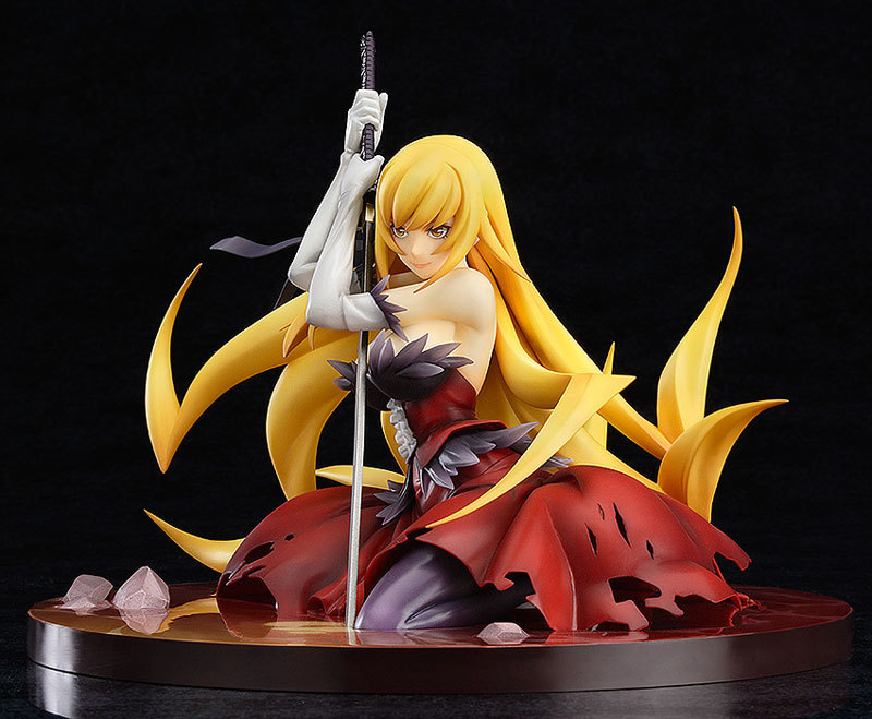 Monogatari Nisemonogatari Oshino Shinobu weapon Action Figures PVC brinquedos Collection Figures toys for christmas gift high quality japanese amine fs good smile goodsmile bakemonogatari oshino shinobu 19cm pvc action figure model toys gift