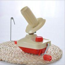 Mão operado fio dobadoura de fibra de lã corda bola linha skein cabo dobadoura máquina para diy costura fazendo ferramentas de reparação artesanato