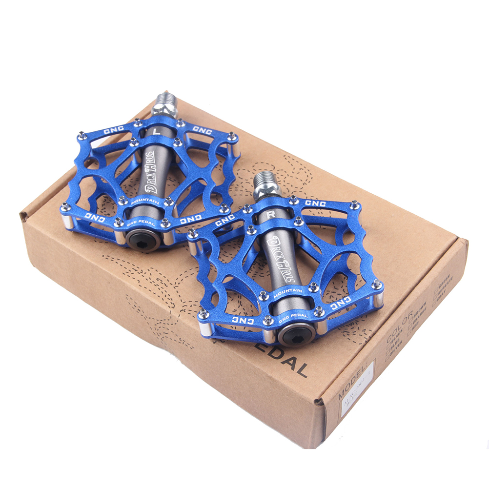 Image 5 - 1 Pair Ultralight Aluminum Alloy Cycling Bike Pedals Mountain Road Bike Parts Bearing Pedal Bicycle Accessories Riding Pedal-in Bicycle Pedal from Sports & Entertainment