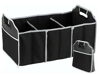 Image 5 - NEW Collapsible Foldable Car Boot Organiser Shopping Car Storage Organizer Bag-in Storage Boxes & Bins from Home & Garden