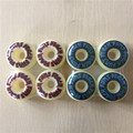 4PCS Extreme Sports Skateboard Parts BUMS BEACH PU Skate Wheels 54/56mm Rodas for Shape Skate