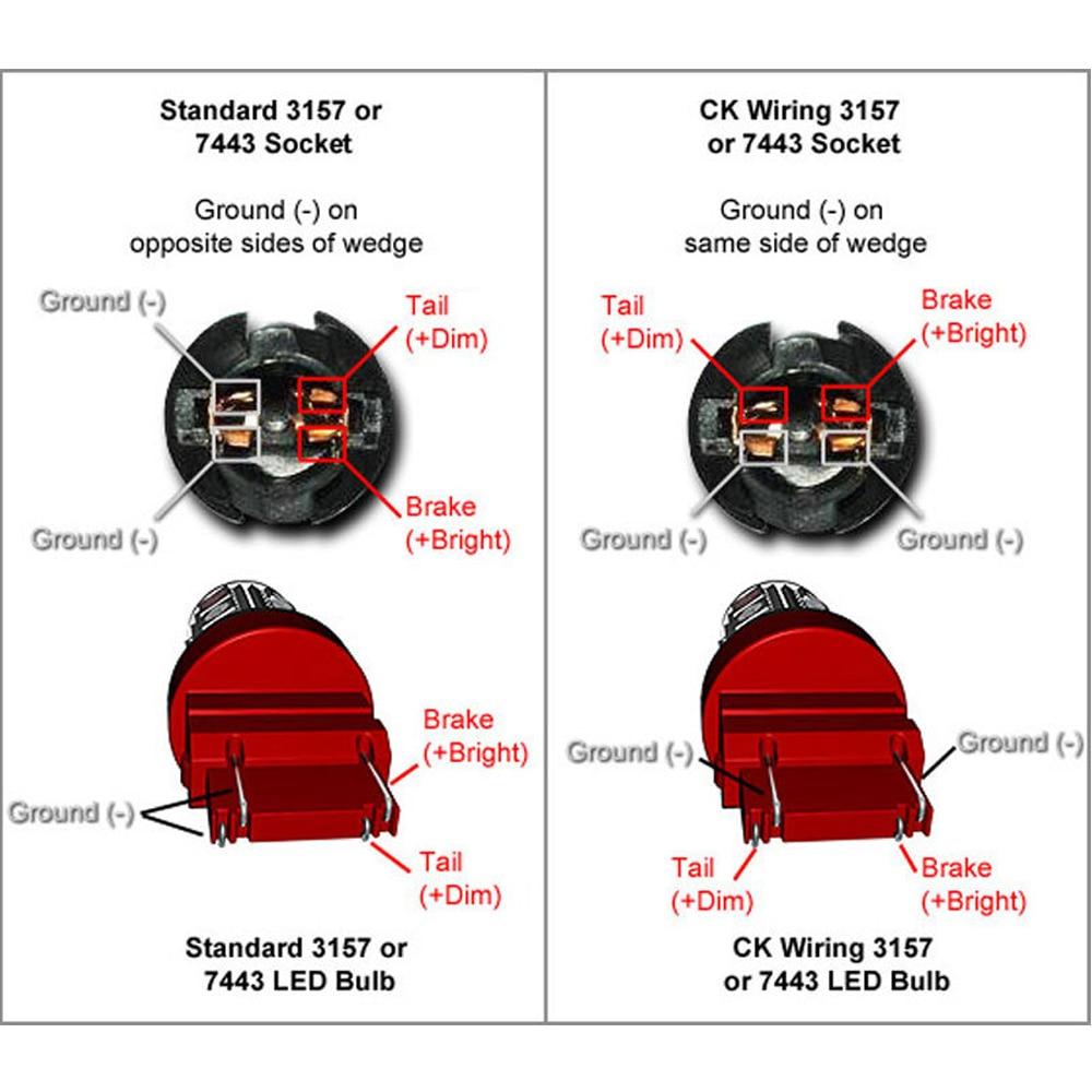 small resolution of 3157 light bulb socket diagram 12v portable battery pack light