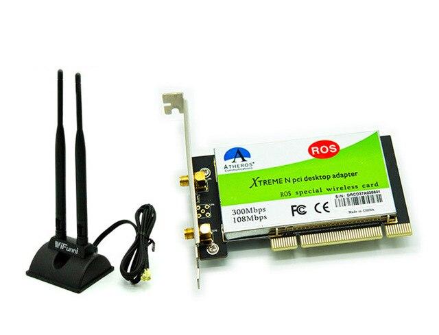 300 М 802.11 b/g/n PCI Настольных Беспроводной Wi-Fi WLAN Card Чипсет для Atheros AR9223