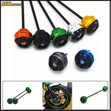 BYSPRINT  CNC Aluminum Motorcycle Accessories Front and rear wheels drop ball / shock absorber For Kawasaki Z900 2017