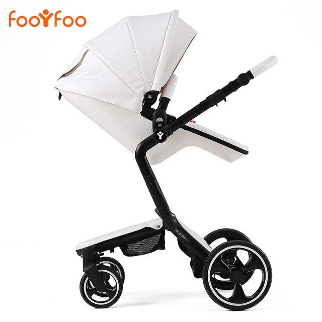 Роскошные амортизаторы детская коляска двусторонний Брендов yoya 3 в 1 коляска для детей автомобиля poussette багги Высокая вид Коляски