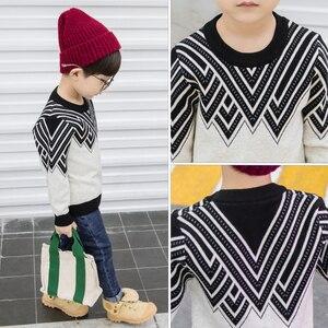Image 2 - Susi & Rita suéteres de punto para niños, jerseys informales de manga larga para otoño e invierno, ropa de Navidad para niños, 2019
