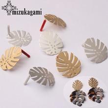 Base de brincos, conectores de liga dourada de zinco para brincos, 6 pçs/lote para acessórios de joia e brincos