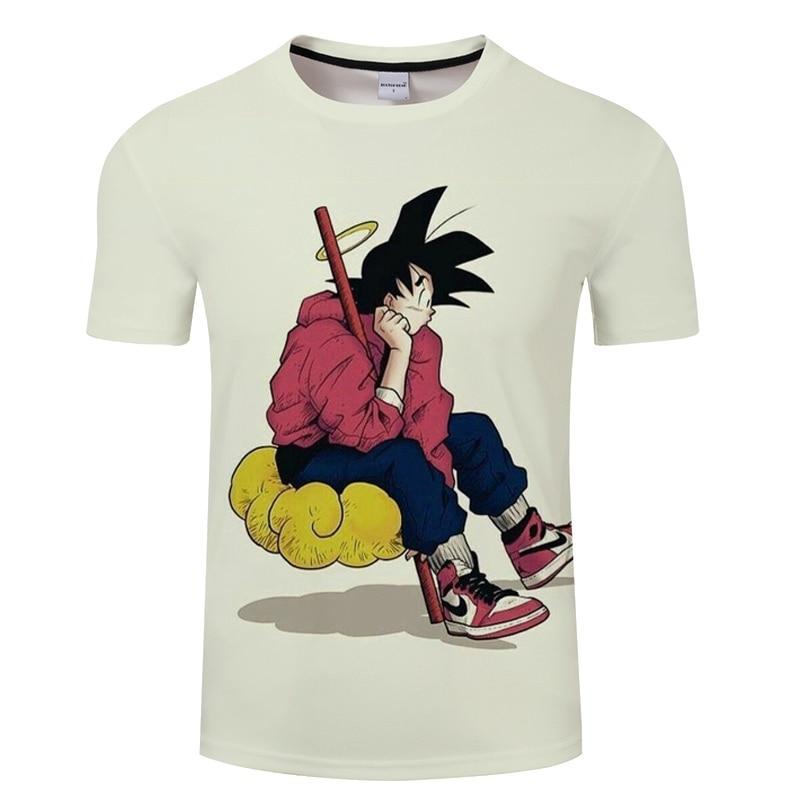 2019 New Dragon Ball Z Ultra Instinct 3D Men T shirt Printed Summer Kid Goku tshirt Funny Men Leisure T-shirts Asian Size S-6XL