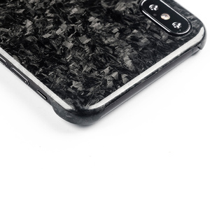 Image 5 - New Forged Composite Real Carbon Fiber Mobile Phone Case For iPhone XS MAX Cover Full Protection For iPhone X XS XR Case