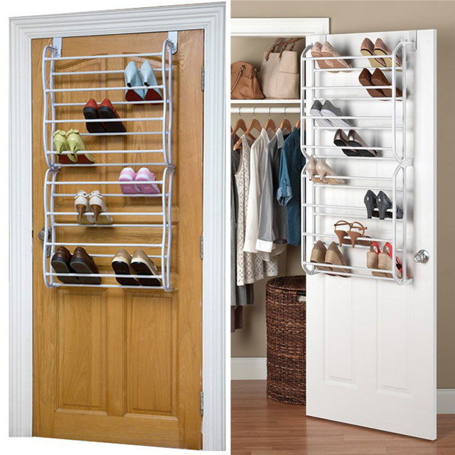 4/8/12 Layers Door Hanging Shoe Cabinet Simple Shoe Rack Multilayer  Quarters Assembly