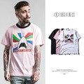 2017 spring and summer new FORGIVENESS men's SLP Sweet Dreams Rainbow Shark men  cotton T shirt