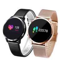 Newwear Q8 Q9 montre intelligente mode électronique hommes femmes étanche Sport Tracker Fitness Bracelet Smartwatch dispositif portable