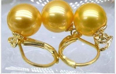 women's Hair full wigs Hot selling shipping***** Huge AAA+ 16mm south sea golden shell pearl earrings Pendant solid