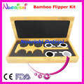 Bamboo Confirmation Flipper Test Rack Frame Trial Lens Vision Tester Kit Set Case Box E04-2511B Free Shipping
