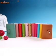 High quality Men Women Leather Credit Card Holder Case Card Holder Business Card