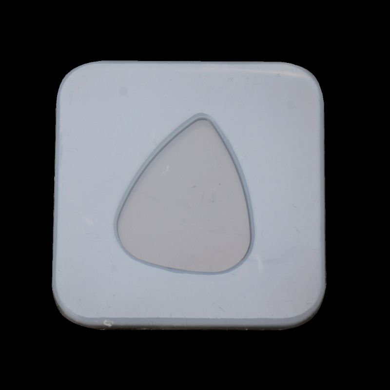 Geometric Triangle Plectrum Silicone Mold Jewelry Pendant Resin Casting DIY Mold
