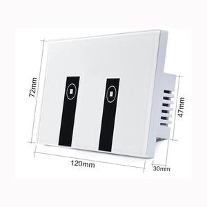 Image 3 - Eua/au padrão ewelink app interruptor de luz via android e ios para casa inteligente, 1/2/3/4 gang controle remoto wifi interruptor de toque