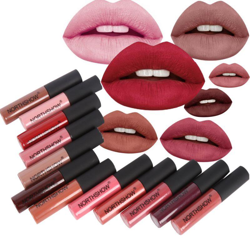 Новый бренд жидкая матовая Губная помада Водонепроницаемый сексуальные красные губы Цвет блеск для губ увлажняющий крем velvet матовая Блеск для губ оттенок Макияж