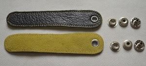 2 pcs Adjustable Accordion Bellow Straps Leather New