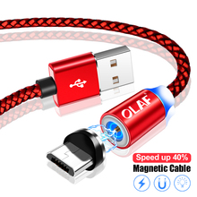 OLAF Magnetic Micro USB Cable 1M 2M Fast Charging Cord microusb cable