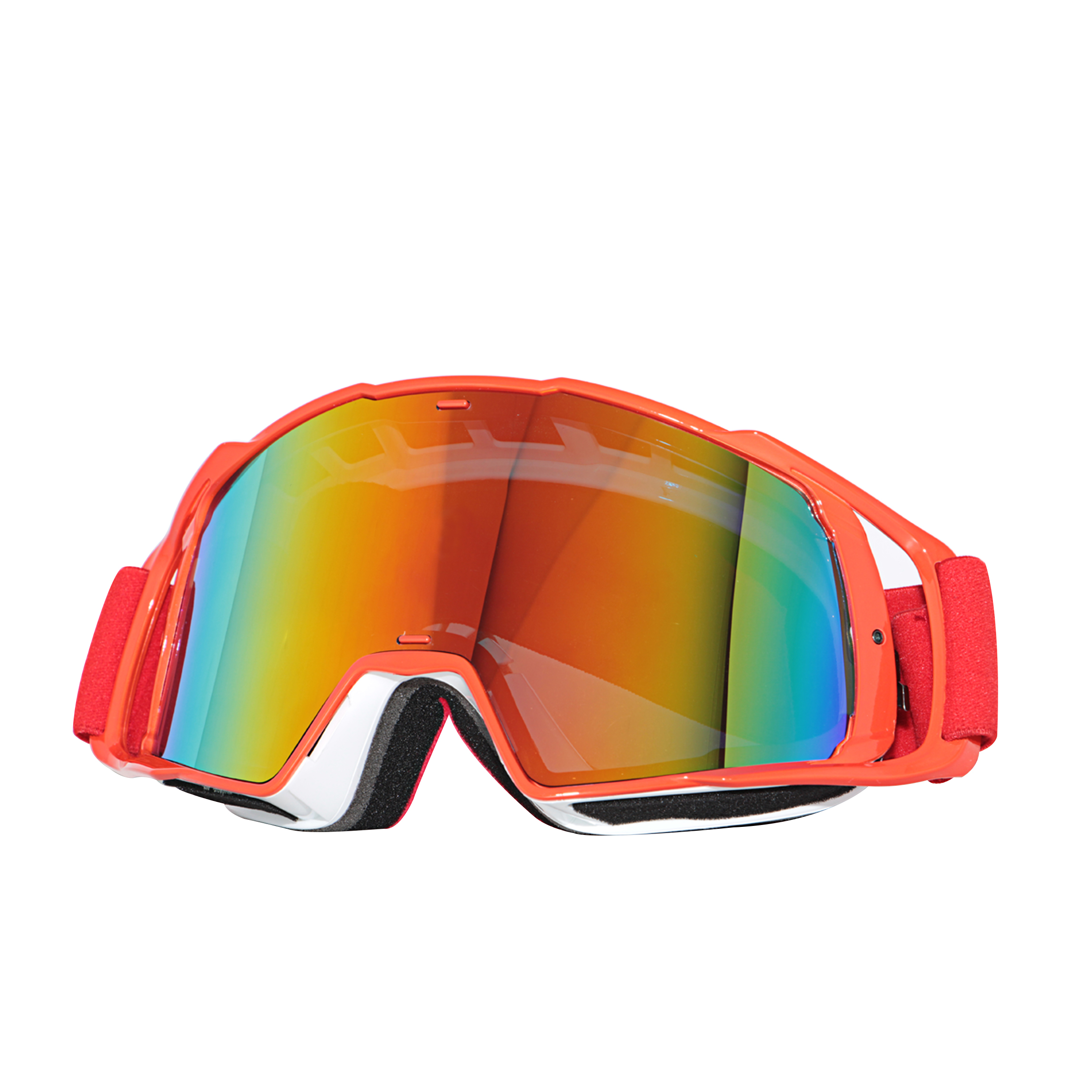 2Tnoz new fashion motorcycle colorful lens glasses dust proof
