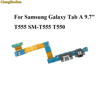 ChengHaoRan 1pc For Samsung Galaxy Tab A 9.7 T555 SM-T555 T550 USB Charge Dock Jack Connector Charging Port Flex Cable image