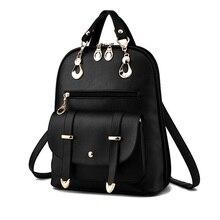 Petit en cuir femmes sacs à dos Beauté pu robe sacs à dos rouge beige noir rose rose école voyage sac à dos sac à dos mochila XA293YL