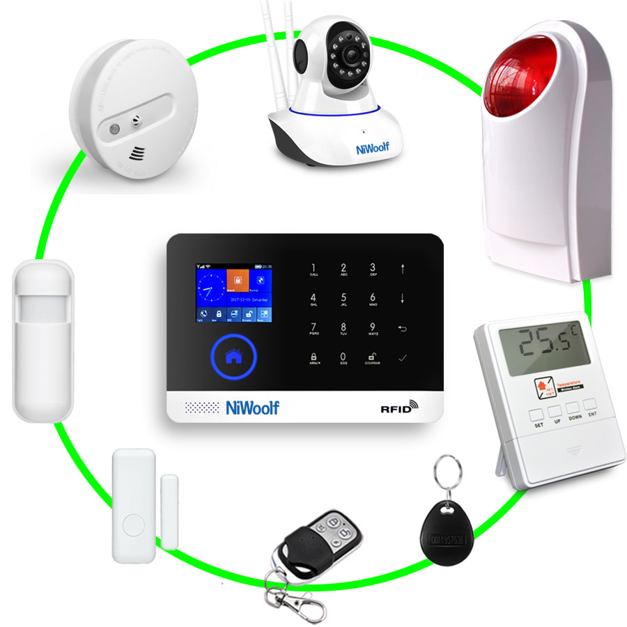 Yobangsecurity Wireless Home Security Burglar Alarm Kit System Auto Dialing Wireless Voice Host Pir Motion Door Window Sensor 2019 Official Back To Search Resultssecurity & Protection