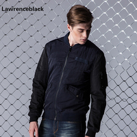 Lawrenceblack Mens Bomber Jacket Men Pilot Jackets Male Autumn Men Cotton Men Casual Jacket Slim Sportswear